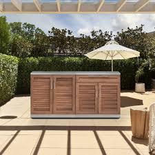 outdoor kitchen cabinet door hinges newage products grove stainless steel 3 outdoor kitchen