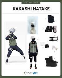 Kakashi Halloween Costume Dress Kakashi Hatake Costume Halloween Cosplay Guides