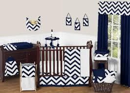 Chevron Bedding Queen Sweet Jojo Designs Navy Blue And White Chevron 11 Piece Baby Crib