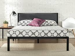 amazon com zinus 14 inch platform metal bed frame with