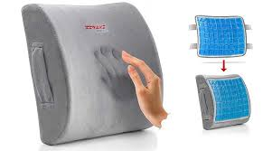 lumbar support cushion memory foam back bleeping world