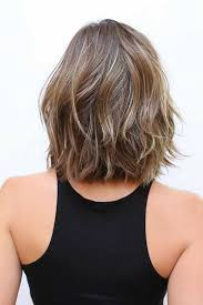 vies of side and back of wavy bob hairstyles 20 short shoulder length haircuts short hairstyles 2016 2017