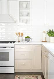 white and taupe lower kitchen cabinets warm beige lower cabinets white cabinets white