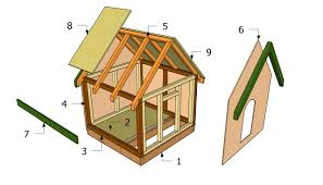 home blueprints free the brilliant and lovely free dog house blueprints intended for