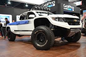 chevy colorado silver sema 2015 roadster shop u0027s gopro colorado