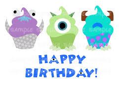 Disney Birthday Meme - cupcakes monsters inc happy birthday disney happy birthday