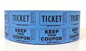 raffle tickets blue raffle ticket roll 2000 office products