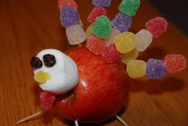 chickenville gumdrop apple turkeys happy thanksgiving