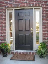 entry doors steel vs wood modern front with glass french furniture