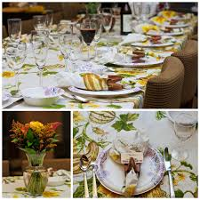 Beautiful Table Settings Green And Brown Friendsgiving Feast Twinspirational