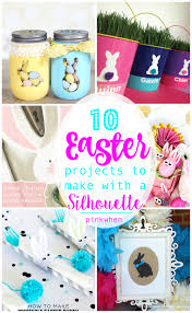 awesome easter projects to make with your silhouette
