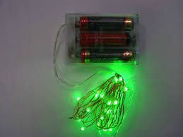 lights foxy micro led string battery