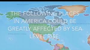 More Sea Level Rise Maps Global Warming Sea Level Rise And Coastal Areas Youtube