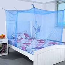 mosquito net for bed lily deluxe double bed mosquito net multi colour amazon in