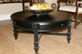 black coffee table with storage 10 the best round coffee tables with drawers for storage