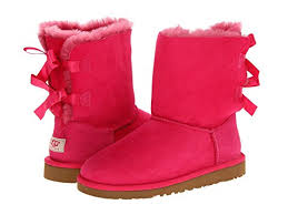ugg bailey bow pink sale ugg bailey bow big kid at zappos com