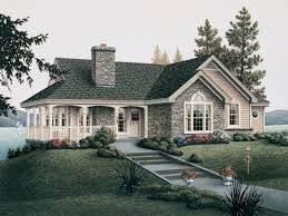 exquisite french country house plan on one story plans of cabin