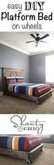 Queen Size Platform Bed Frame Diy by Queen Size Bed Frame Diy Youtube Small House Pinterest