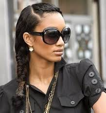 black hair styles for for side frence braids front french braid with side fish tail braid hair styles ideas
