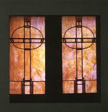 grainger glass door stained glass designs of frank lloyd wright u2013 grainger arts