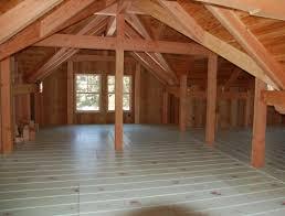 radiant hardwood floors