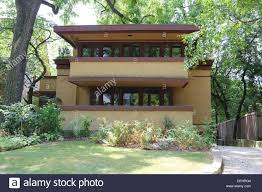 frank lloyd wright laura gale house 1909 oak park il prairie style