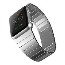 stainless link bracelet images Apple watch band stainless steel link bracelet silver hw co jpg