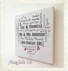 personalised wedding gifts personalised wedding typography wooden plaque sign keepsake gift w32
