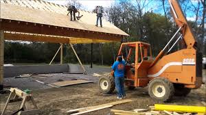 Car Port Construction Framing A Car Port With Lam Beams Youtube