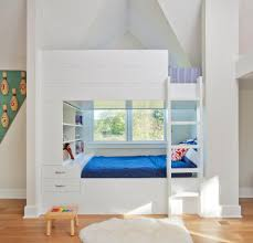 Tween Bedroom With Bunk Bed Ladder Kids Traditional And Slip Area Rugs - Kids novelty bunk beds
