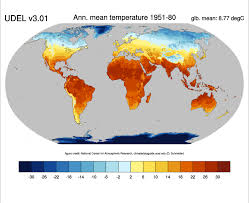 United States Temp Map by Global Land Precipitation And Temperature Willmott U0026 Matsuura