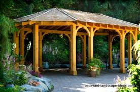 Backyard Pavilion Plans Ideas Backyard Gazebo Plans Large And Beautiful Photos Photo To