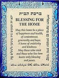 blessing for the home house blessing house blessing shared reading and house