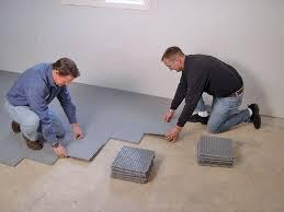 basement flooring options diy flooring home design ideas