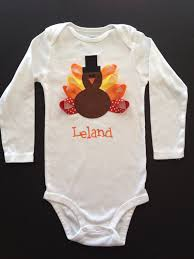 boys pilgrim turkey shirt personalized thanksgiving baby