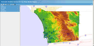 Maps San Diego by Evacuation Updates Maps And Info San Diego Wildfire 2007