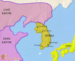pusan on map map of korea at 979ad timemaps