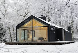 Camp Plans by Top 25 Best Modern Cabins Ideas On Pinterest Small Modern Cabin