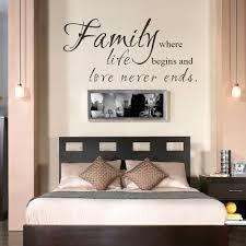 wandtattoo schlafzimmer sprüche lustig familie zitate sprüche