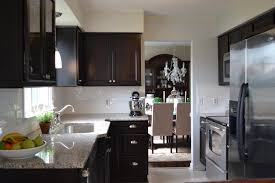 Dark Kitchen Cabinets With Light Granite Dark Kitchen Cabinets With Light Granite Top Dark Kitchen