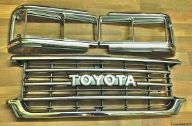 toyota land cruiser fj62 parts radiator grille and headlight door kit for 88 90 fj62 cruisers