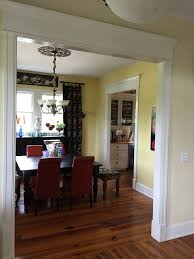 open kitchen and dining room crown molding ideas room image