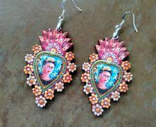 frida earrings frida kahlo earrings ebay