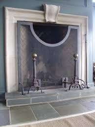 fireplace screens iron blacksmith kevin johnson the iron studio