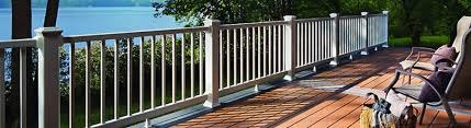Decking Banister Deck Railing Systems Metal Composite Vinyl Glass Cable