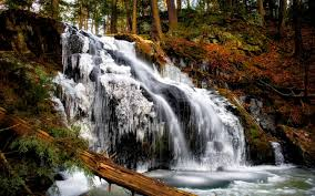 Connecticut forest images Waterfalls ice falls connecticut forest beautiful nonnewaug jpg