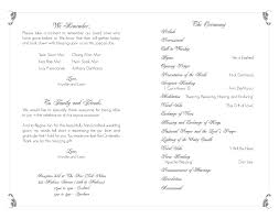 wedding program layouts andyzuka display more