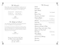 wedding program layout andyzuka display more