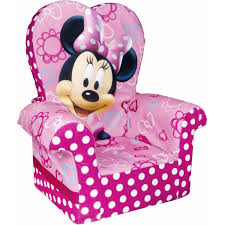 minnie s bowtique marshmallow high back chair minnie mouse s bow tique walmart