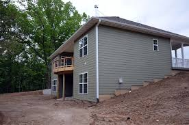 basement homes retaining walls and walk out basement details custom homes by